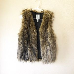Full Tilt faux Fur Vest